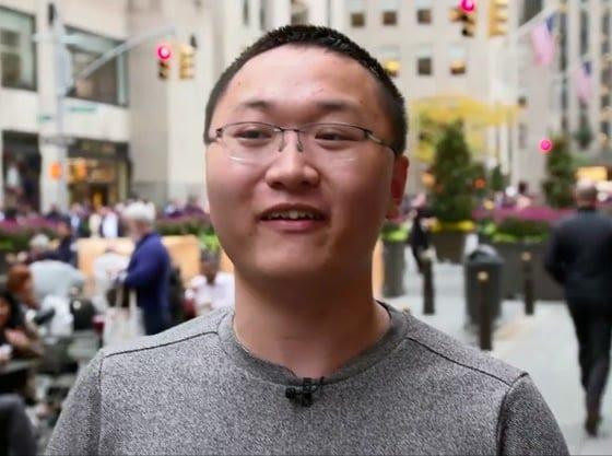 Jason Zhou of the University of Rochester.